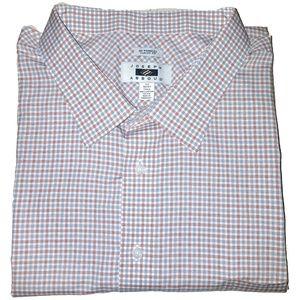 Joseph Abboud Long Sleeve Button Down Plaid Shirt